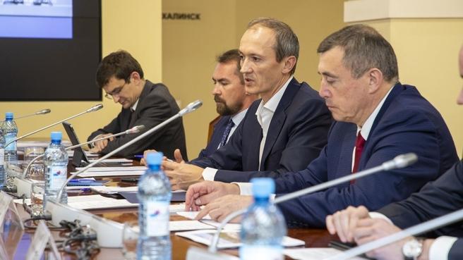 Дмитрий Григоренко провёл встречу с бизнесом