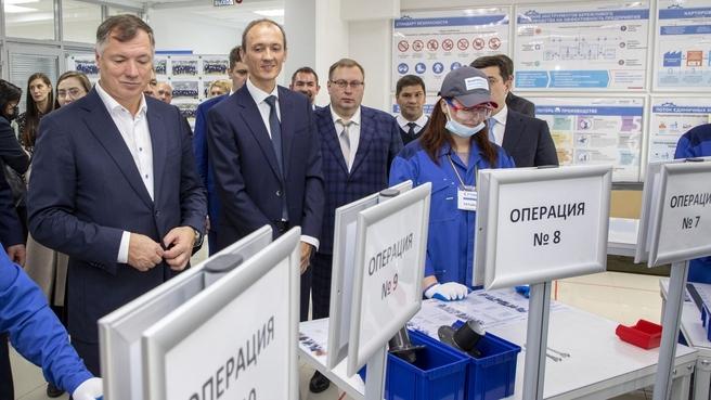 Марат Хуснуллин и Дмитрий Григоренко посетили «Школу заказчика объектов капитального строительства»