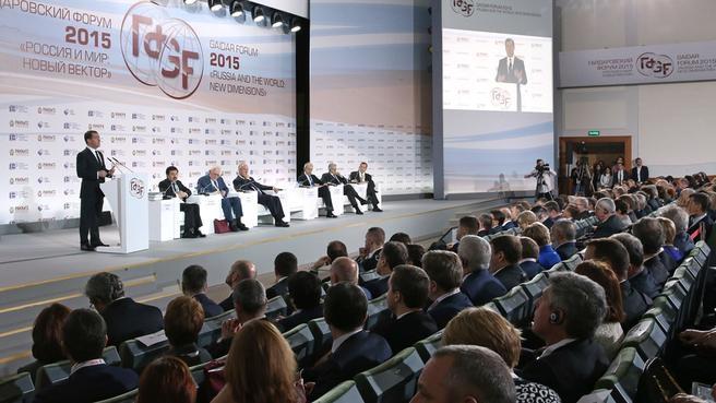 Выступление на пленарной дискуссии VI Гайдаровского форума