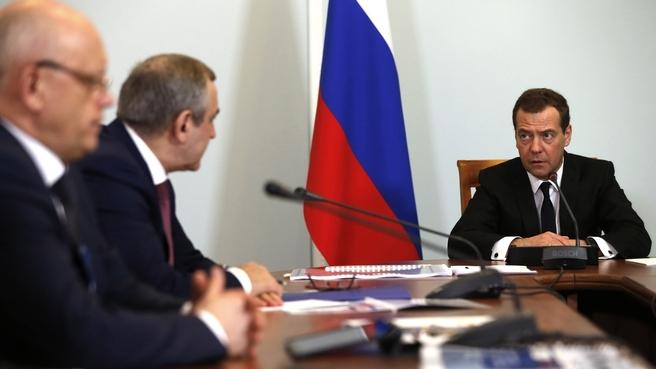 Вступительное слово Дмитрия Медведева на совещании о дорожном хозяйстве Омской области