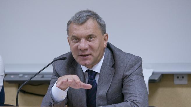 Юрий Борисов прочитал лекцию в МГУ