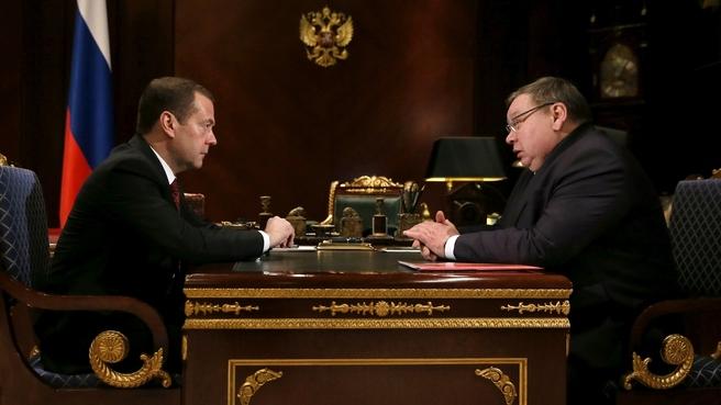 Встреча с губернатором Ивановской области Павлом Коньковым