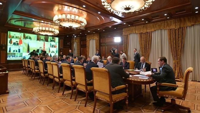 Заседание президиума Совета при Президенте по стратегическому развитию и национальным проектам