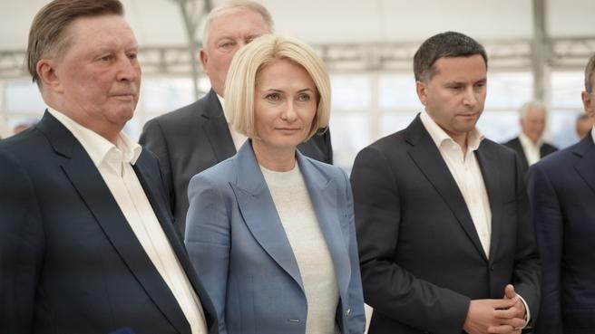 Виктория Абрамченко посетила с визитом Краснодарский край