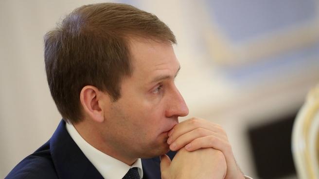 Александр Козлов на заседании Правительства