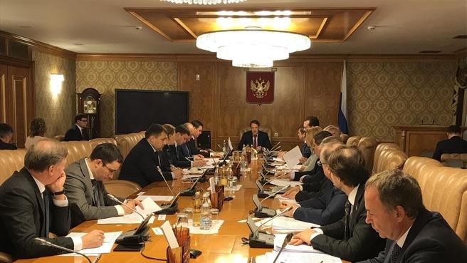 Заседание Комиссии Правительства по вопросам развития рыбохозяйственного комплекс