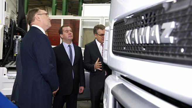 Посещение ОАО «КамАЗ»