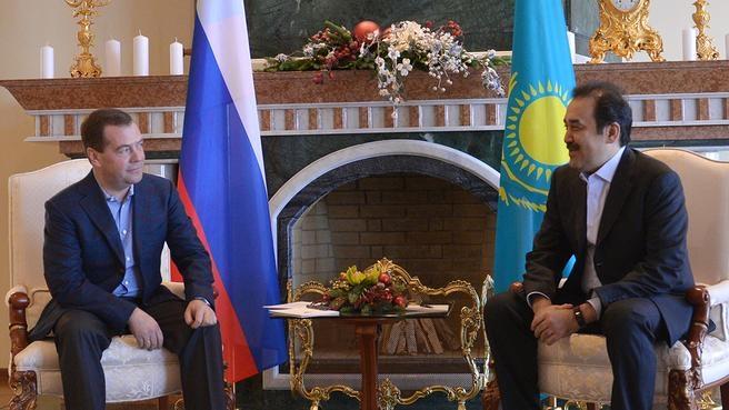 Встреча с Премьер-министром Казахстана Каримом Масимовым