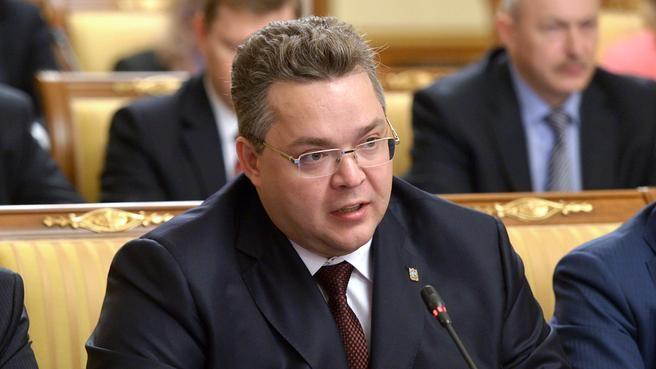 Выступление губернатора Ставропольского края Владимира Владимирова на заседании Правительства