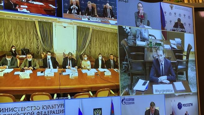 Юрий Трутнев провёл заседание Правительственной комиссии по вопросам социально-экономического развития Северо-Кавказского федерального округа