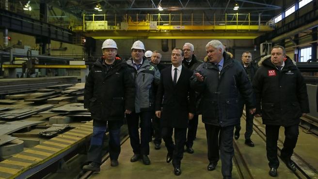 Посещение АО «Балтийский завод»