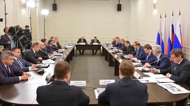 Совещание об импортозамещении в изделиях радиоэлектроники и развитии рынка сбыта российской электронной компонентной базы