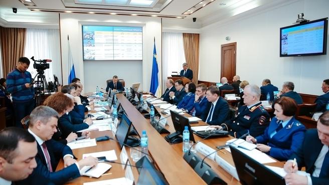 Cовещание по стратегии социально-экономического развития Республики Бурятия