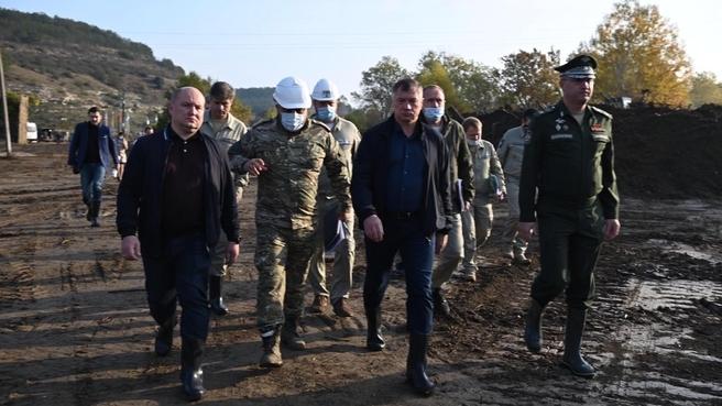 Марат Хуснуллин посетил Крым и Севастополь для контроля выполнения плана обеспечения региона надёжным водоснабжением