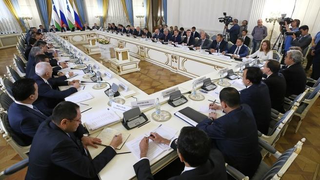 19-е заседание Межправительственной комиссии по экономическому сотрудничеству между Российской Федерацией и Республикой Узбекистан