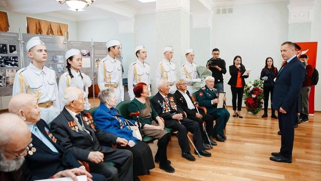 Встреча Юрия Трутнева с ветеранами Великой Отечественной войны, проживающими в Республике Бурятия