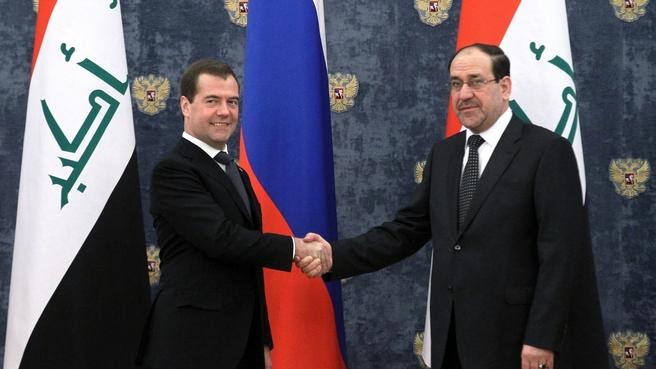 Встреча с премьер-министром Республики Ирак Нури аль-Малики