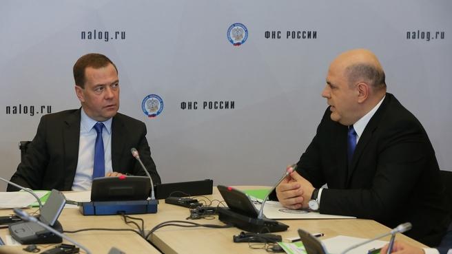 Доклад Михаила Мишустина на совещании о развитии системы налогового мониторинга