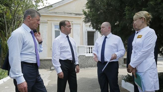 Посещение Городской инфекционной больницы Севастополя