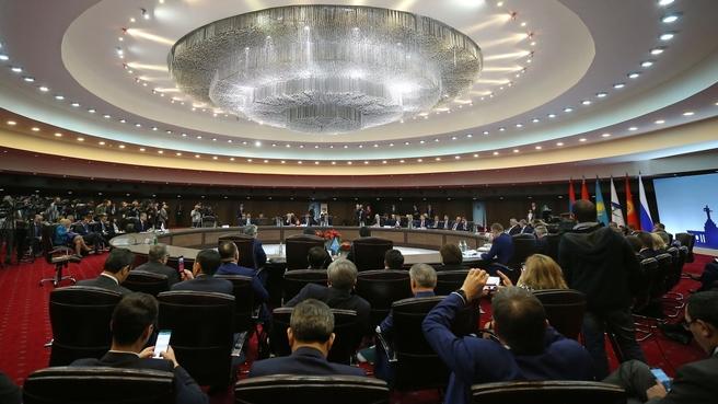 Meeting of Eurasian Intergovernmental Council