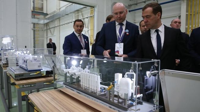 Посещение АО «Транснефть Нефтяные Насосы»
