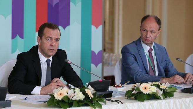 Встреча Дмитрия Медведева с представителями книжной отрасли