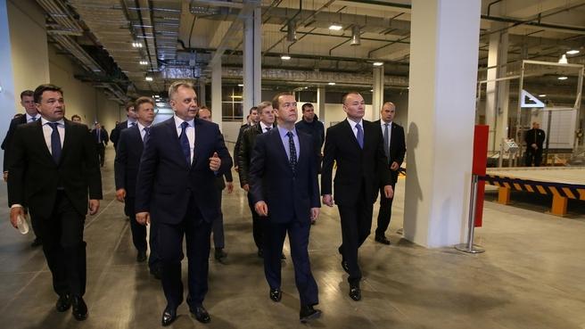 Посещение Международного аэропорта Шереметьево