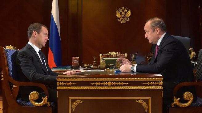 Встреча с генеральным директором ПАО «Совкомфлот» Сергеем Франком