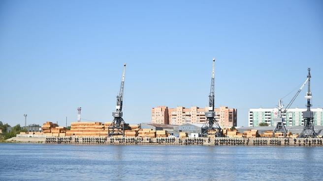 Рабочая поездка Марата Хуснуллина в Астраханскую область