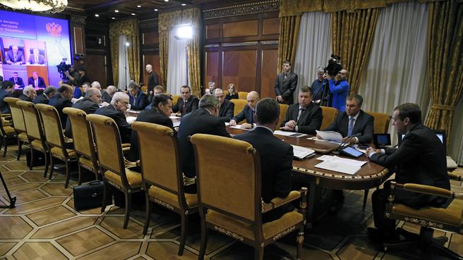Совещание о долговой нагрузке на региональные бюджеты