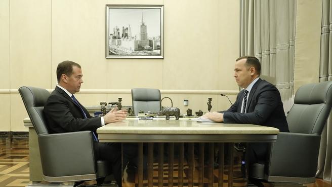 Встреча с губернатором Курганской области Вадимом Шумковым