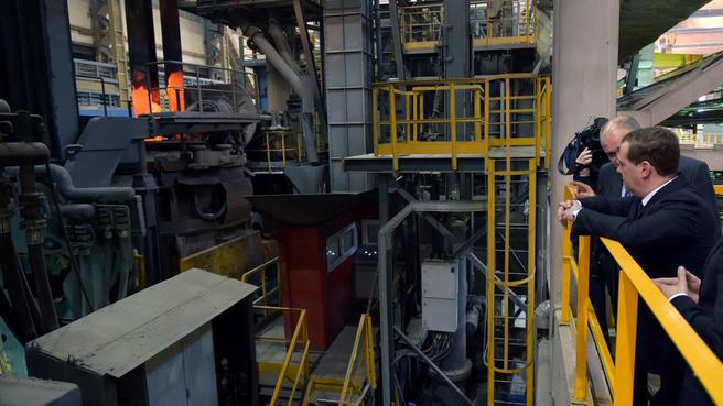 Посещение ЗАО «Тихвинский вагоностроительный завод»