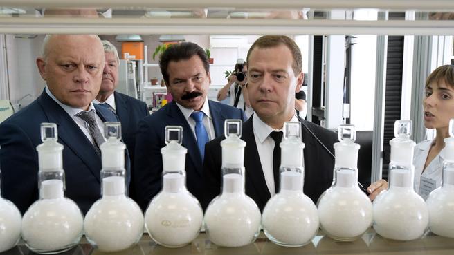 Посещение Омского завода полипропилена