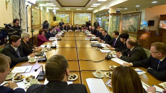 Встреча с работниками российских библиотек