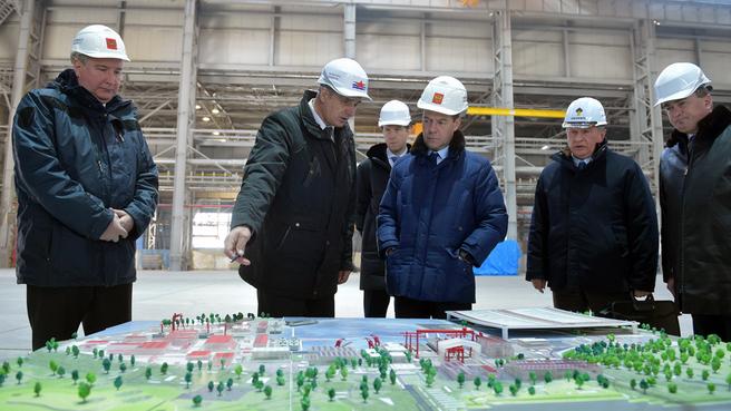 Посещение ОАО «Дальневосточный завод «Звезда»