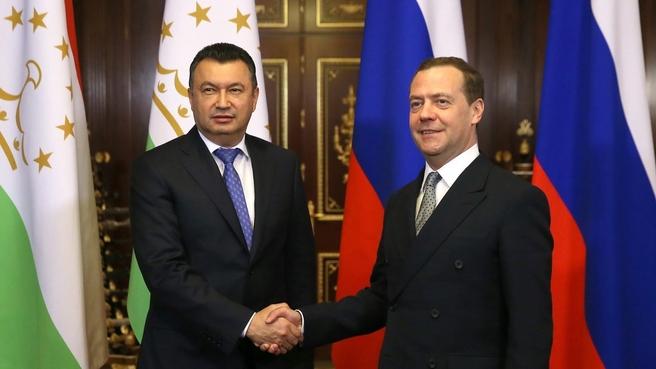 Встреча с Премьер-министром Республики Таджикистан Кохиром Расулзода
