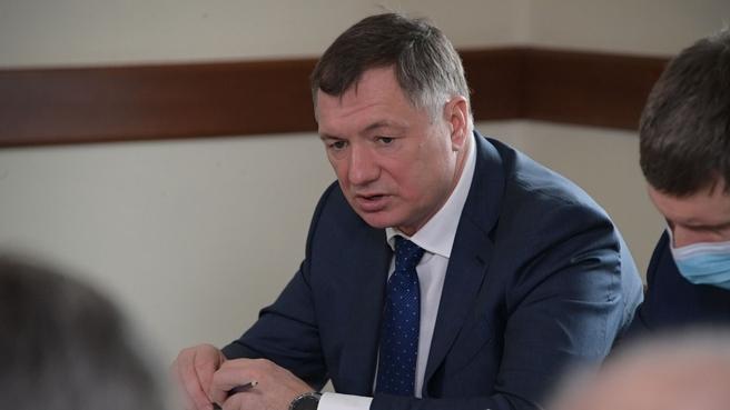 Марат Хуснуллин на совещании о транспортном обеспечении вывоза угля из Кемеровской области