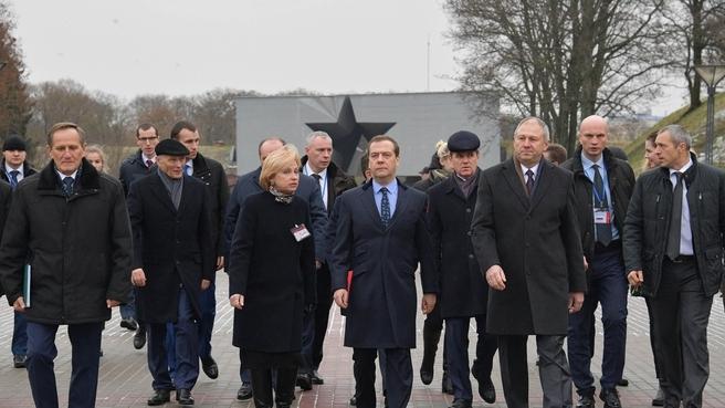 Посещение мемориального комплекса «Брестская крепость-герой»