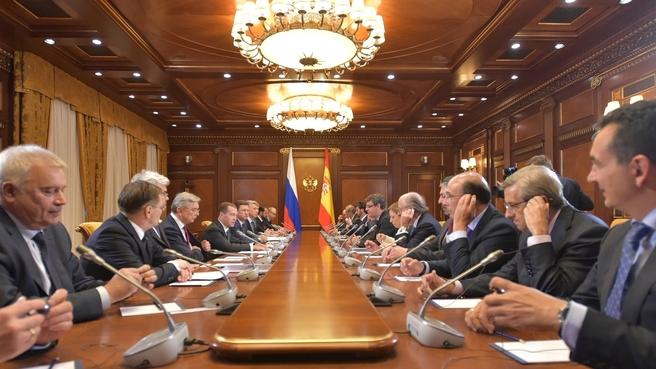 Встреча с представителями российских и испанских деловых кругов