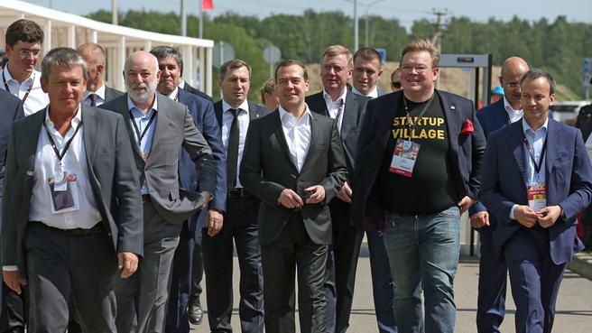 Международная конференция для стартапов и инвесторов Startup Village – 2015