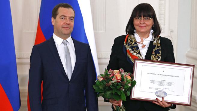С главой города Ульяновска Мариной Павловной Беспаловой