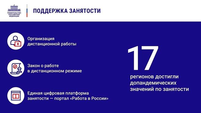 К отчёту о  деятельности Правительства России за 2020 год. Слайд 15