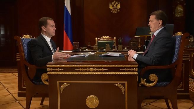 Встреча с губернатором Воронежской области Алексеем Гордеевым