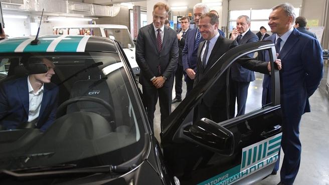 Посещение Научно-производственного предприятия «Итэлма» по производству электрического и электронного оборудования для автотранспортных средств