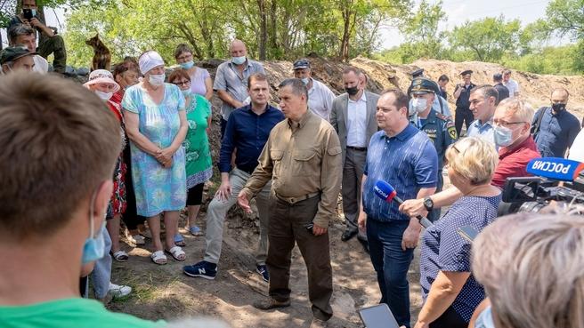 Юрий Трутнев встретился с жителями села Кукелево