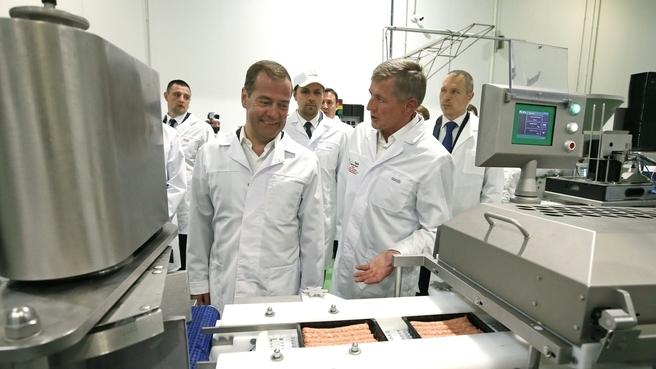 Посещение Курского мясоперерабатывающего завода