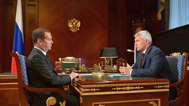 Встреча с главой Республики Карелия Артуром Парфенчиковым