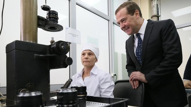 Посещение Красногорского завода имени С.А.Зверева