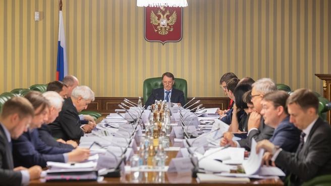 Заседание проектного комитета по национальному проекту «Экология»