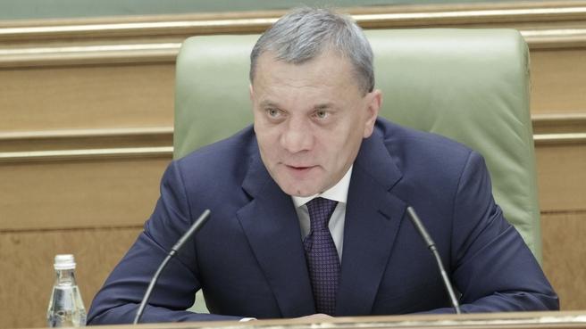 Юрий Борисов на заседании коллегии Военно-промышленной комиссии